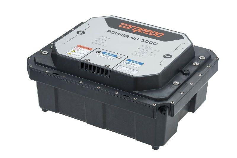 Power 48-5000 battery - photo © Torqeedo