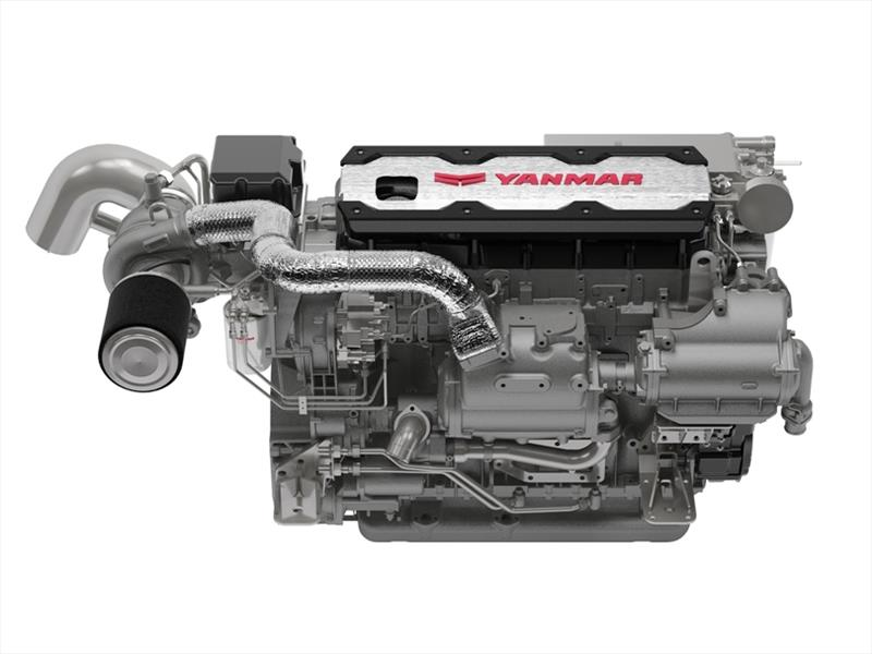Yanmar 6LT marine diesel engine - photo © Yanmar Marine