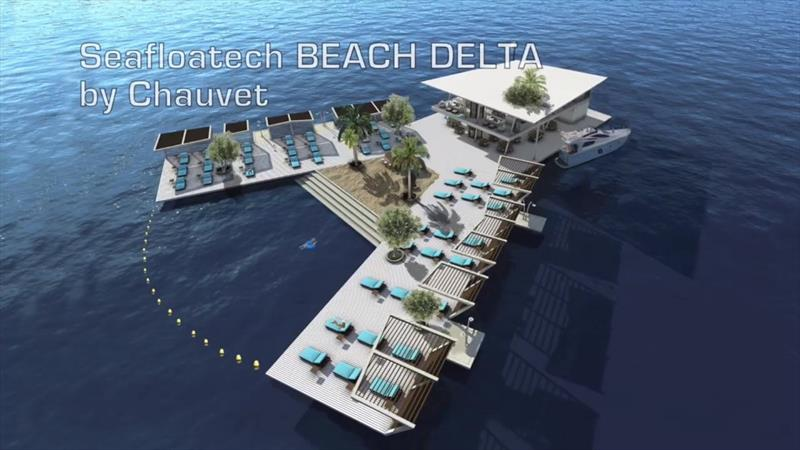 Seafloatech Beach Delta by Chauvet © Seafloatech