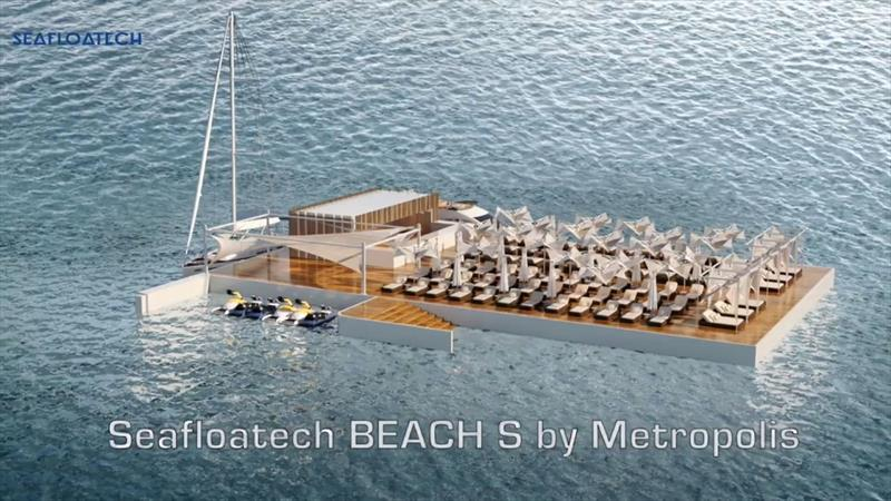 Seafloatech Beach S by Metropolis - photo © Seafloatech