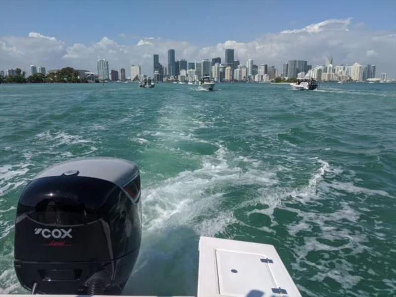 Cox's 300hp diesel outboard has successfully passed EPA testing - photo © Cox Powertrain