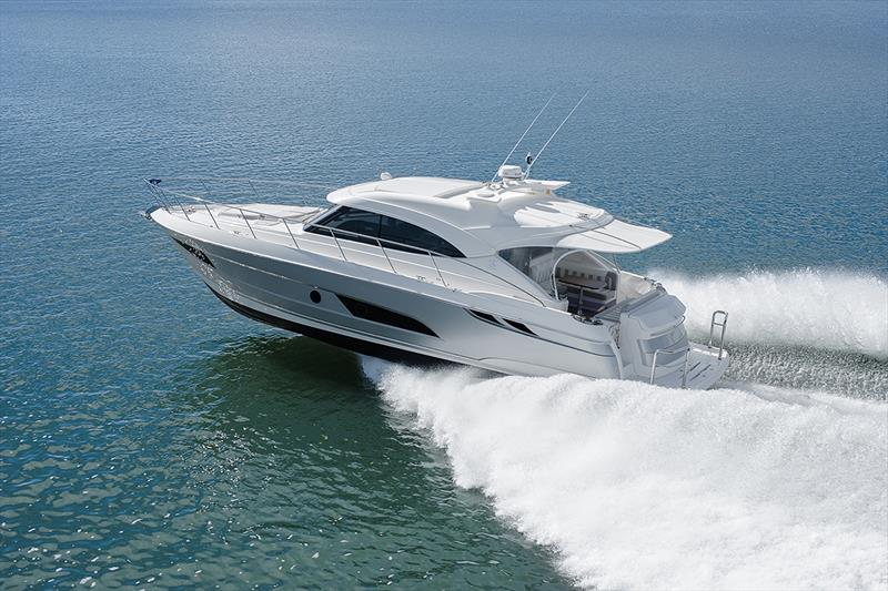 The Riviera 4800 Sport Yacht exhibits superb sea-keeping capabilities. - photo © Riviera Australia