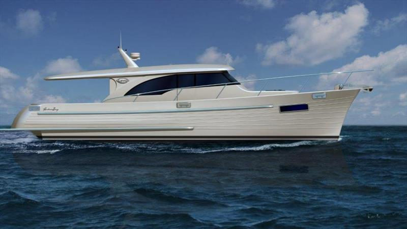 Hudson Bay 390 - Artist Impression - photo © Sanctuary Cove Media