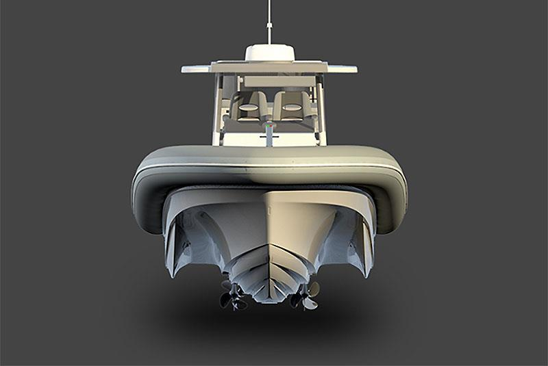 Amazing looking and functional tool - Sea Blade X 36 - photo © Front Street Shipyard