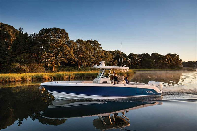 Boston Whaler 330 Outrage photo copyright Boston Whaler taken at  and featuring the Power boat class