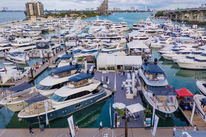 MCY's presence at Miami Yacht Show 2019 photo copyright Monte Carlo Yachts taken at  and featuring the Power boat class