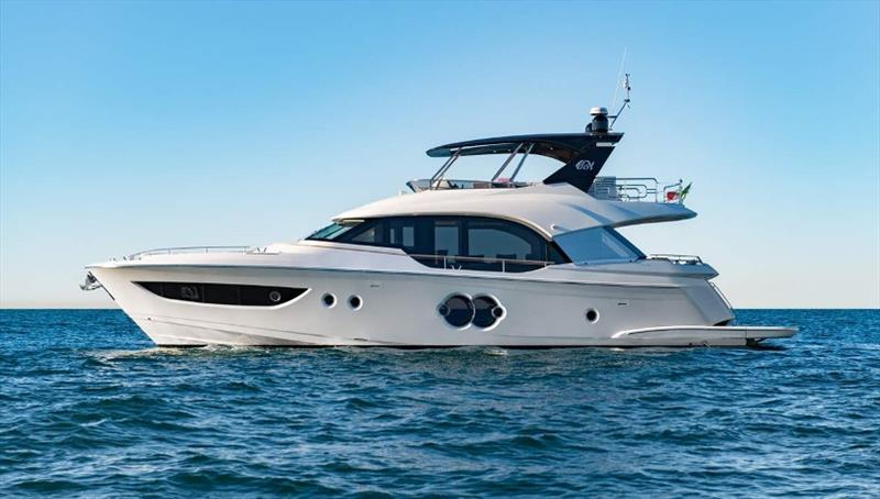 The new MCY 70 photo copyright Monte Carlo Yachts taken at  and featuring the Power boat class