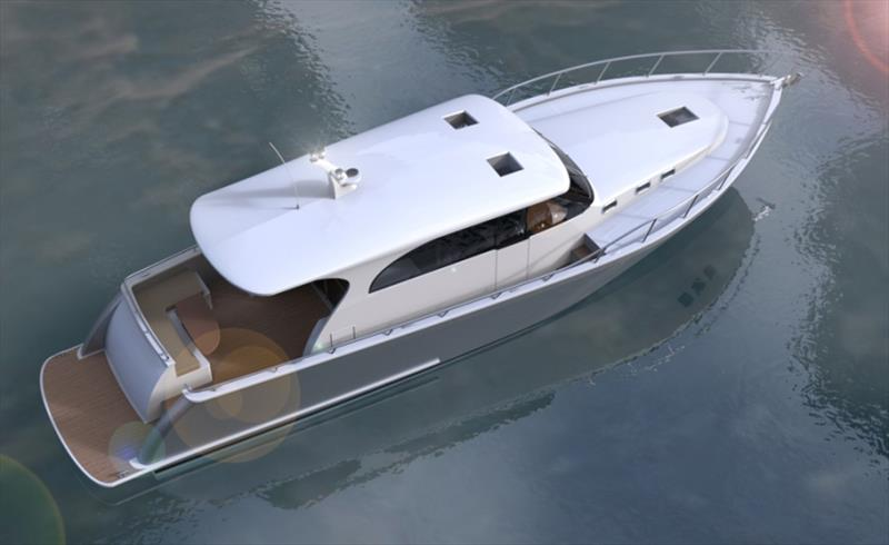 Newport 460 - photo © Newport Motor Yachts