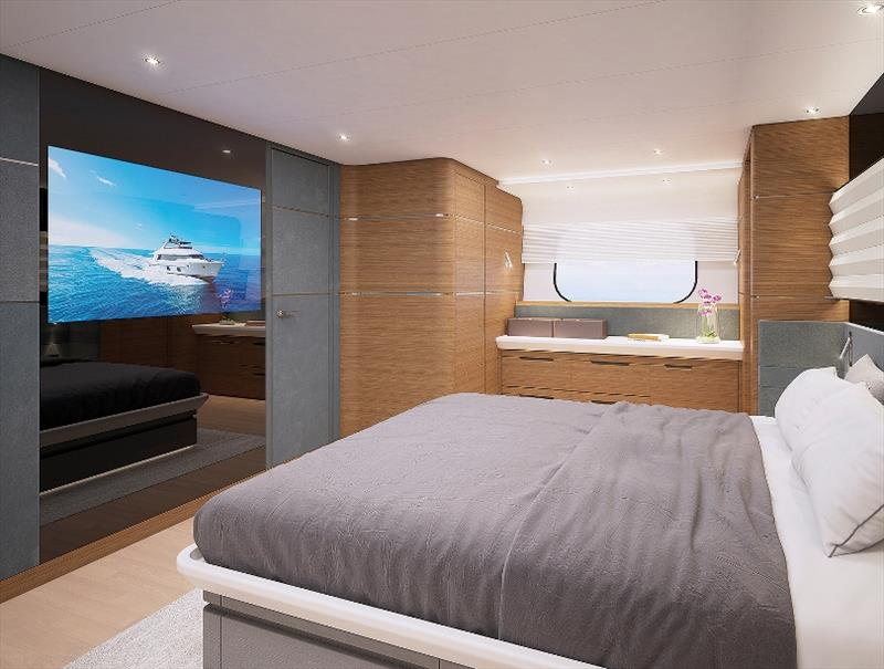 CLB88 Interior Master Stateroom - photo © CL Yachts