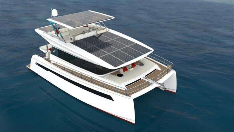 Silent 44 - photo © Silent Yachts