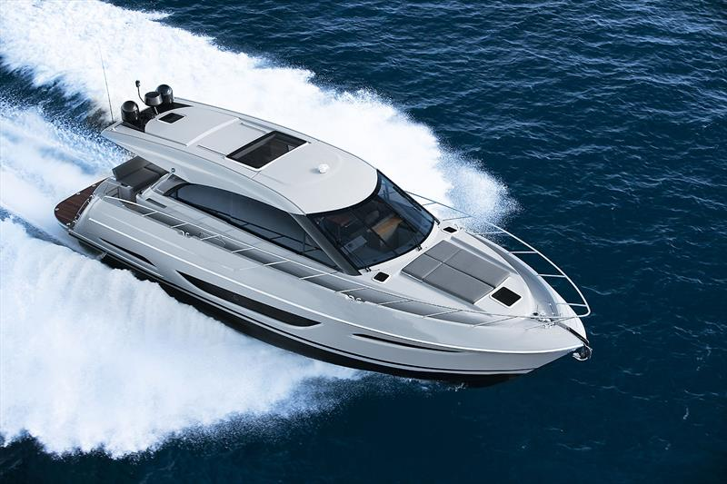 Maritimo's very new and enhanced X50R  - photo © Maritimo