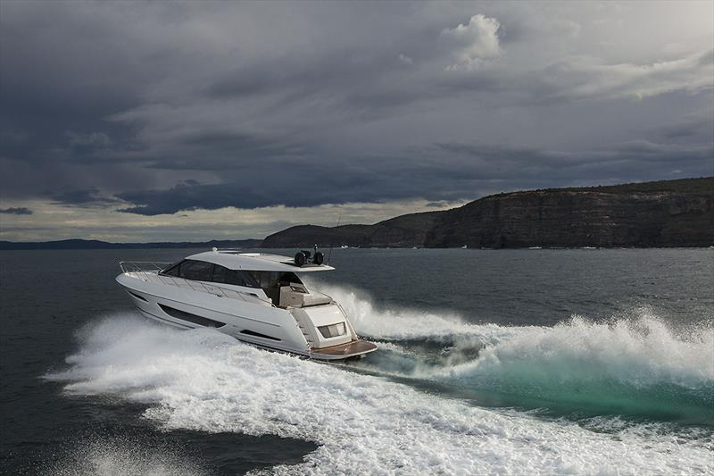 2019 Maritimo X50 photo copyright John Curnow taken at  and featuring the Power boat class