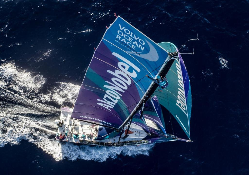 Farr Yacht Design designed the fleet of Volvo Ocean 65s that are competing in the 2017/2018 Volvo Ocean Race. Photo by James Blake/Volvo Ocean Race. 18 November, 2017. - photo ©  James Blake / Volvo Ocean Race