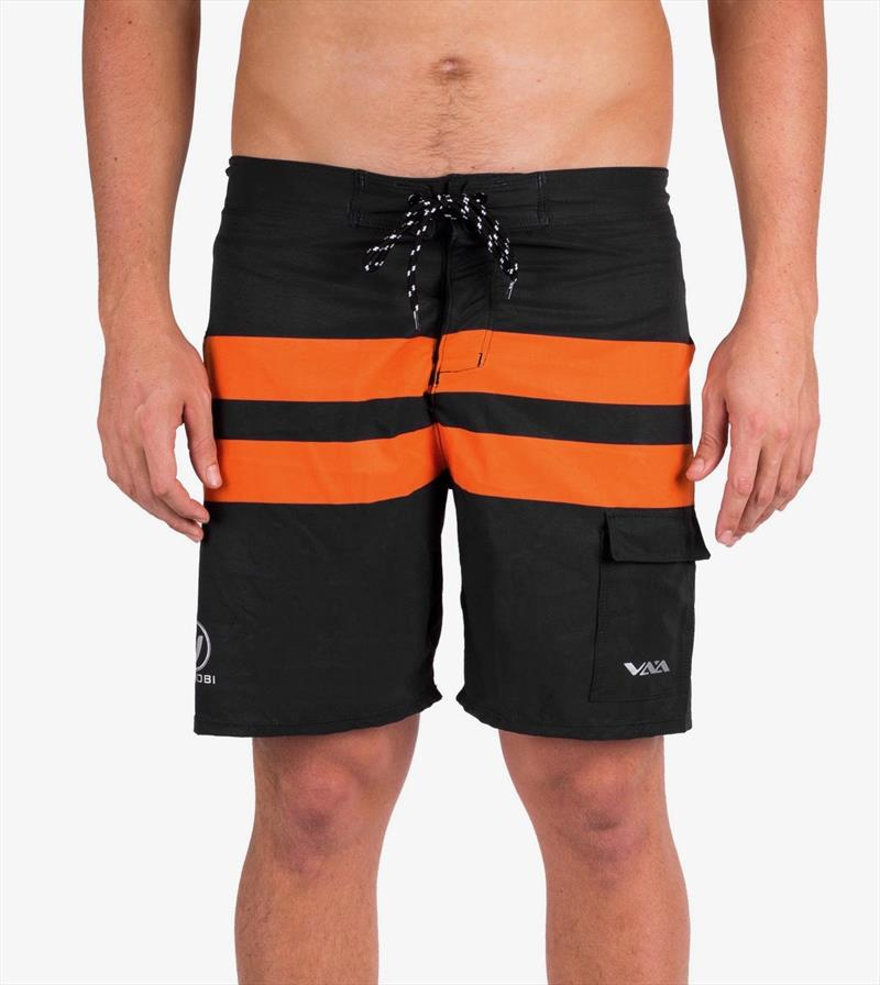 Vaikobi Ocean board shorts in black and orange. - photo © Vaikobi