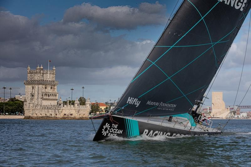 Mirpuri Foundation Racing Team training off Portugal - photo © Marc Bow